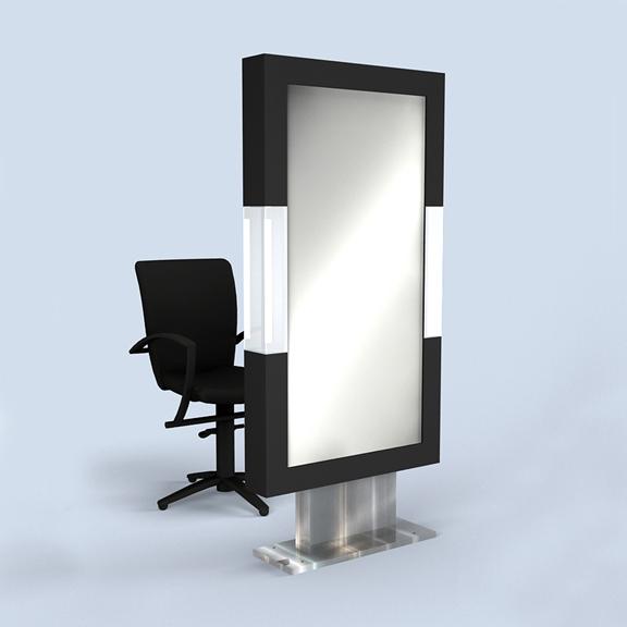 domino single mirror