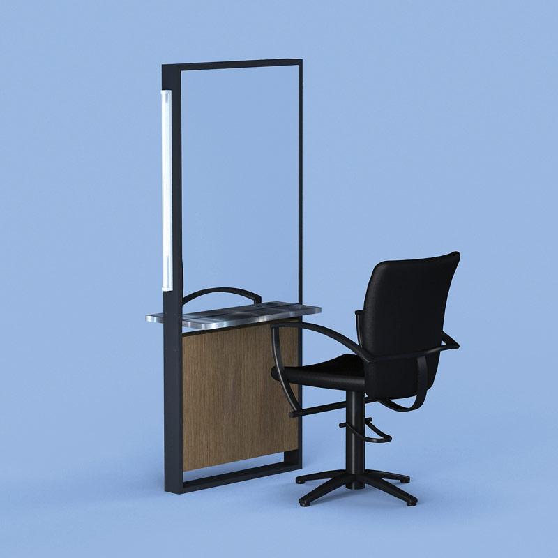 Framed Salon Mirrors Illuminated Mirrors Salon Furniture