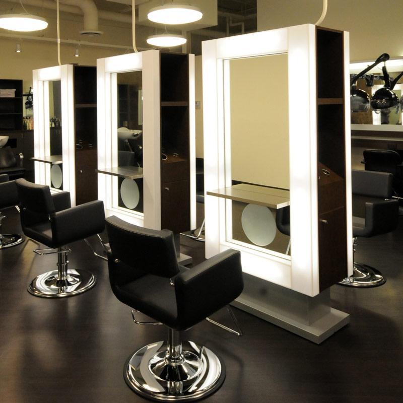 Double Sided Mirrors Salon Mirror Designs