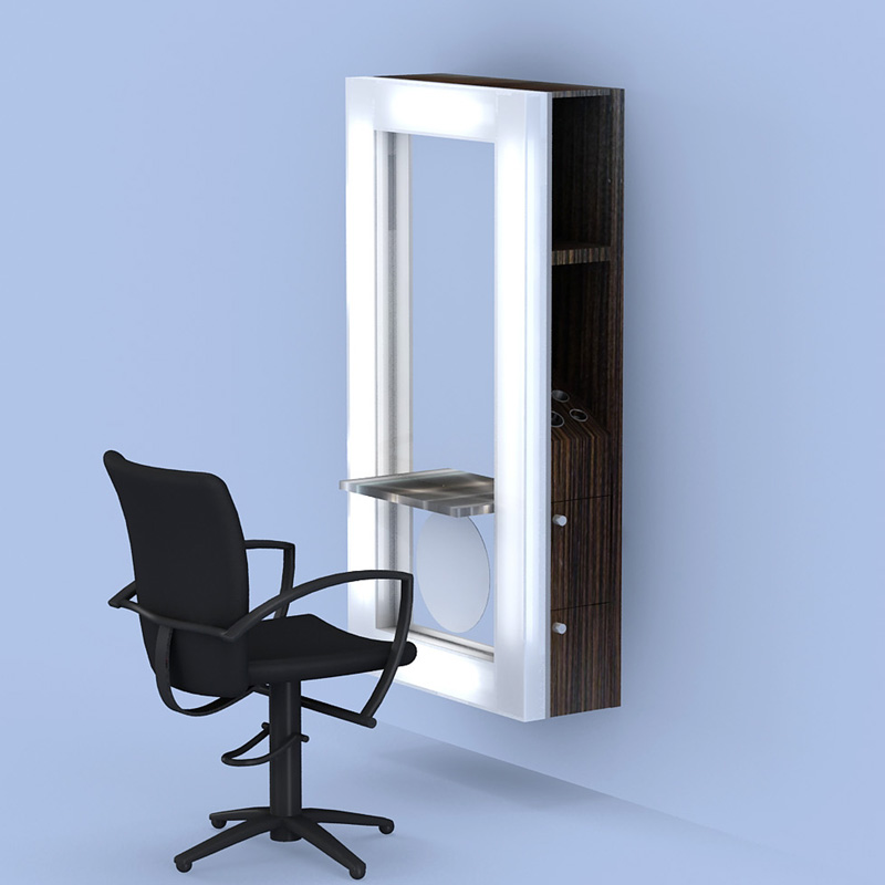 Salon Wall Stations Salon Furniture Salon Mirrors
