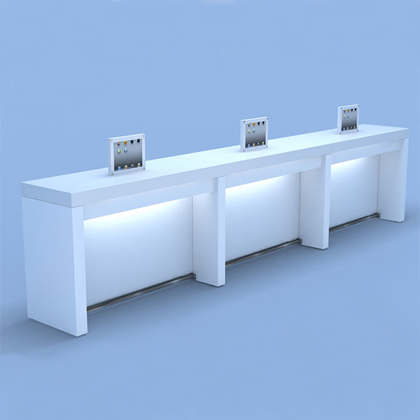 Color Application Table Salon Furniture Eurisko Design