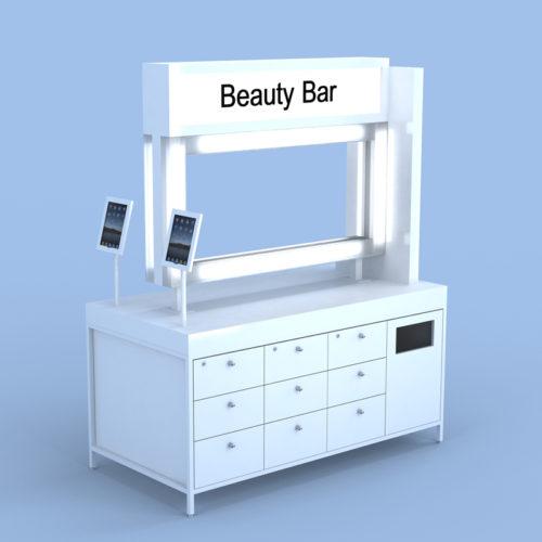 Beauty Bar Salon Retail Furniture Eurisko Design